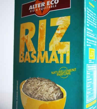 Emballage alimentaire pour la marque Alter Eco