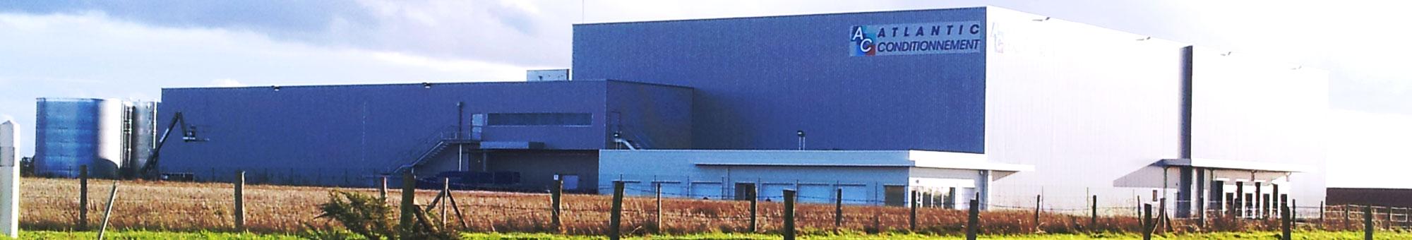 L'usine d'Atlantic Conditionnement