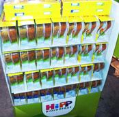 Remplissage de box et display pour les rayons alimentaires