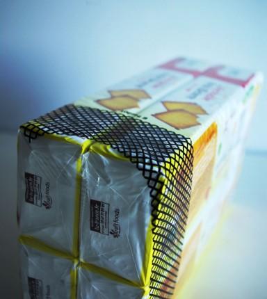 Copacking de paquets de biscuits LU